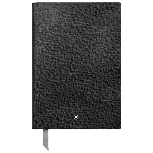 Montblanc Fine Stationery Lined Black Notebook #146 A5