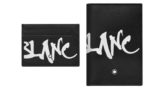 Montblanc Sartorial Calligraphy Card-Holder and Pocket Diary