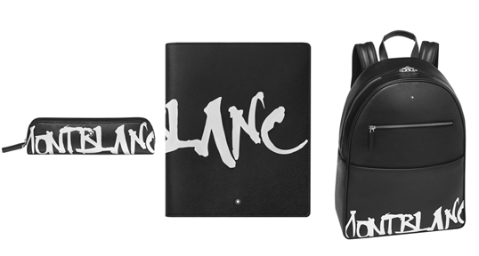 Montblanc Sartorial Calligraphy Pen-Pouch, Notebook and Backpack