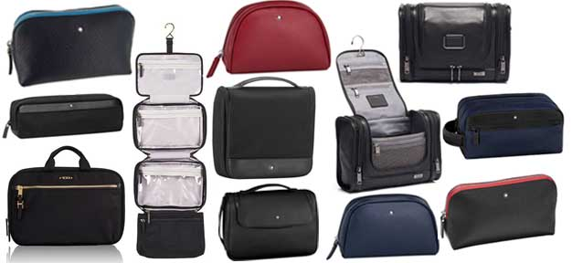 Wash Bags and Toiletries Cases