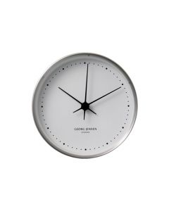The Georg Jensen, 22cm Koppel White Wall Clock is perfect for any home, with modern look and finish