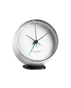 The Georg Jensen, 10cm Koppel Stainless Steel Alarm Clock  is perfect for getting you up in style