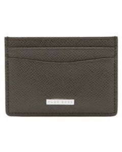 The Boss Signature Green Leather 4CC Cardholder