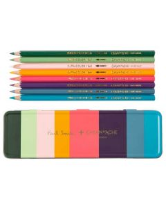 These are the Caran d'Ache x Paul Smith SUPRACOLOR® 8 Pencil Set.