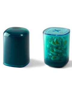 The Lexon Secret Storage Box Dark Blue