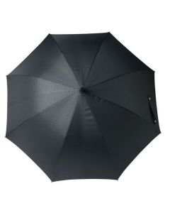The Hugo Boss Grid City Black Umbrella with automatic opening