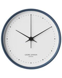 Georg Jensen Koppel 22cm Blue & White Wall Clock