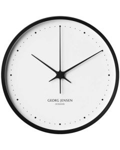 The Georg Jensen Koppel 30cm Black & White Wall Clock