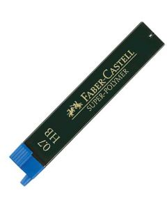 HB 12 pack of  0.7 mm Graf von Faber-Castell pencil leads.
