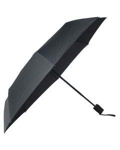 The Hugo Boss Grid Black Pocket Umbrella
