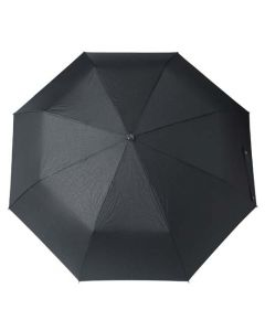 The Hugo Boss Grid Black Pocket Umbrella with the Grid Collection Pattern