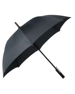 The Hugo Boss Grid Pattern Black Golf Umbrella
