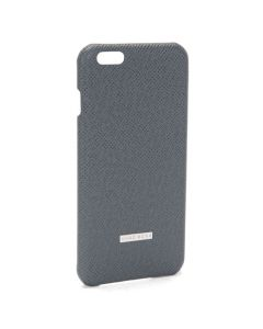 Grey Leather iPhone 6 Plus Case
