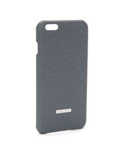 Grey Leather iPhone 6 Plus Case