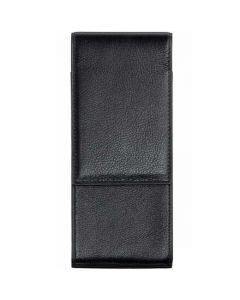 This black leather pen case is part of the Lamy collection.