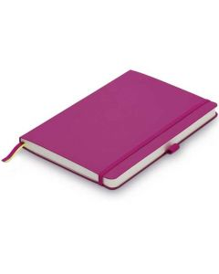 The LAMY Pink Softcover Ruled Notebook A6