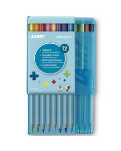 This is the LAMY Pack of 12 Colourplus Pencils in Plastic Case.