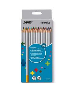 These are the LAMY Pack of 24 Colourplus Pencils.