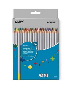 This is the LAMY Pack of 36 Colourplus Pencils.