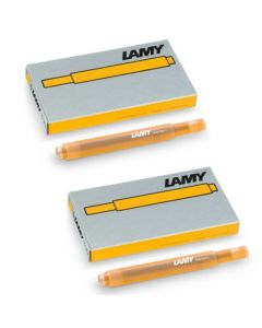 These are the LAMY T10 Mango Ink Cartridges.