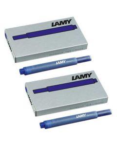 The LAMY T10 Blue Ink Cartridge