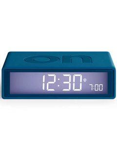 The Lexon Flip + Alarm Clock Duck Blue