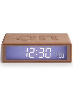 The Lexon Flip Alarm Clock Copper