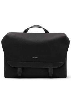 The Matt & Nat Canvas Collection Black MARTEL Messenger Bag