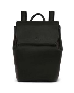 The Matt & Nat Vintage Collection Black FABI MINI Backpack