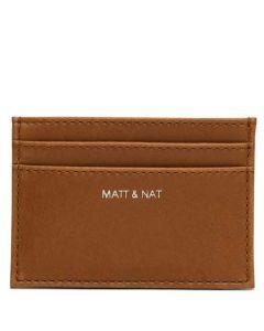 The Matt & Nat Vintage Collection Chili Matte Nickel MAX Card Holder