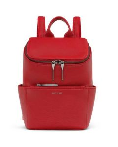 The Matt & Nat Dwell Collection Red BRAVE MINI Backpack