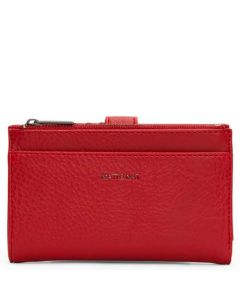 This is the Matt & Nat Dwell Collection Red MOTIVSM Small Wallet.