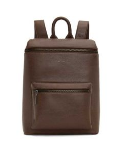 This is the Matt & Nat Dwell Collection Chestnut OSHIE Backpack.