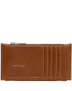 This is the Matt & Nat Vintage Collection Chili Matte Nickel JESSE Wallet.