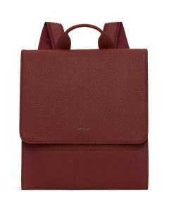This is the Matt & Nat Purity Collection Beet Slim MAVI Backpack.