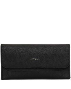This is the Matt & Nat Purity Collection Black NIKI Wallet.