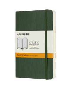 This green Moleskine notebook is part of their classic collection.