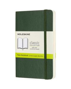 This Moleskine Green Leather Notebook is part of their Classic Collection.
