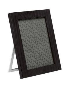 Black wooden Montblanc photo frame for your desk.