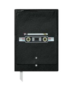 The Montblanc #146 Fine Stationery Black Notebook with Cassette Pocket