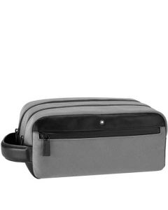 This is the Montblanc Nightflight Grey Wash Bag.