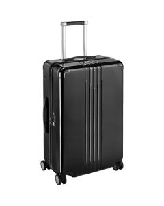 This is the Montblanc Light Black #MY4810 Medium Cabin Trolley.