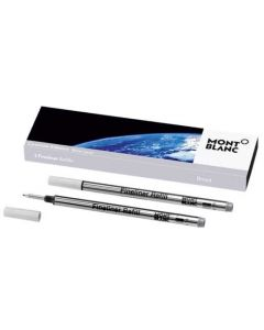This is the Montblanc Silver Grey StarWalker Exploration Fineliner Refill (B).