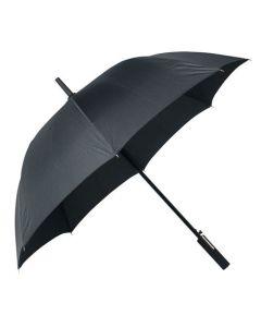 The Hugo Boss Grid City Black Umbrella