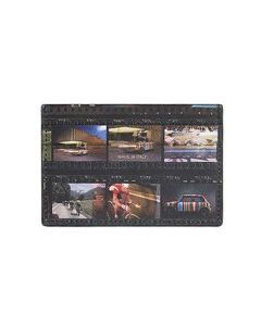 The Paul Smith, Film Strip Card Holder has been crafted from the finest textured leather and features a computer generated print