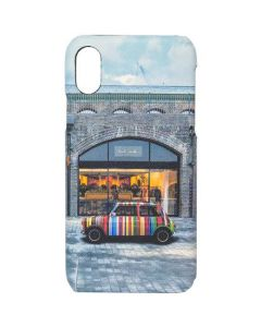 This is the Paul Smith iPhone X Kings Cross Mini Print Case.
