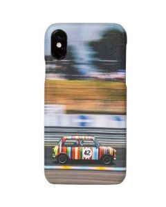 The Paul Smith Racing Mini Print iPhone X Case