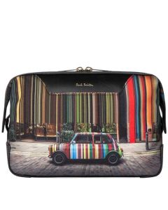 This is the Paul Smith Mini Print Covent Garden Wash Bag.