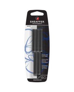 Sheaffer Classic Ink Cartridges come in a pack of five and are available in Black.