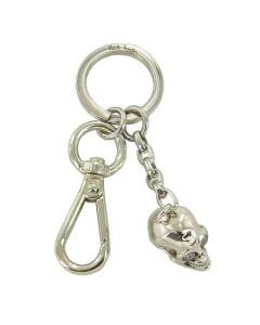 This is the Paul Smith Skull Silver & Stone Keyring.